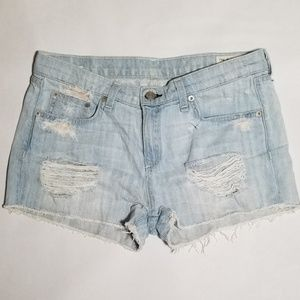 Rag and Bone Distressed Shorts